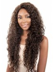 Capless Curly African American Wig