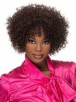 Curly Classic Lace Front African American Wig