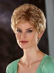 Short Elegante Lace Front Synthetic Wig