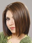 Magnificent Soft Straight Medium Human Hair Wig