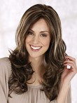 Long New Style Centre Parting Layerd Wavy Wig