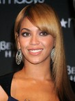 Beyonce Straight Long Capless 100% Remy Human Hair Celebrity Wig