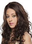 Lace Front Curly Long Stunning Human Hair Wig