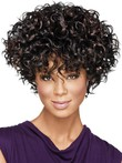Fabulously Full-on Synthetic Curly African American Wig