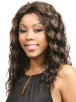 Wavy Lace Front Synthetic Long African American Wig