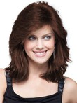 Lace Front Style Stunning Human Hair Womens Wig