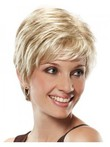 Chic Curly Lace Front Short Synthetic Wig