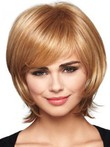 Synthetic Straight Pretty Capless Wig