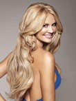 Human Hair Full Lace Length Long Wavy Wig