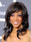 Capless Wavy Synthetic Long African American Wig