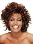 Stylish Wavy Lace Front African American Wig
