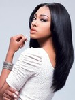 Elegant Straight Synthetic Lace Front Wig
