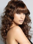 Wavy Synthetic Long Fashionable Capless Wig