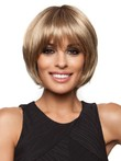 Synthetic Medium Length Stunning Lace Front Wig