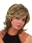 Stunning Lace Front Synthetic Wavy Wig For Woman