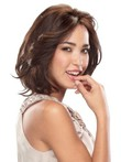 Medium Fabulous Lace Front Bob Style Human Hair Wig