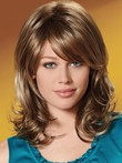 Synthetic Wavy Gorgeous Capless Wig