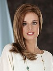 Shoulder Lace Front Charming Length Straight Wig