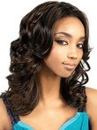 Synthetic Loose Wave Capless Long African American Wig