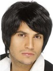 Fancy Capless Mens Human Hair Mens Wig