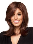 Lace Front Mono Top Fantastic Synthetic Wig