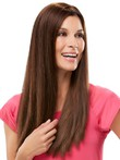 Long Silky Attractive Lace Front Straight Wig
