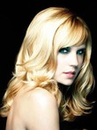 Wavy Synthetic Fashionable Capless Wig