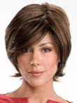 Luxury Wavy Short Graceful Real Hair Wig