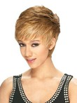 Short Impressive Straight Lace Front African American Wig