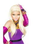 Nicki Minaj's Straight Human Hair Long Celebrity Wig