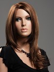 Lace Front Marvelous Human Hair Straight Wig