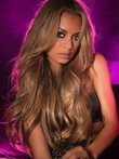 Long Nice-looking Wavy Human Hair Lace Front Wig