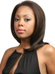 Lace Front Remy Human Hair Long African American Wig