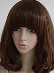 Graceful Remy Human Hair Wavy Capless Wig
