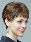 Fashionable Lace Front Graceful Short Synthetic Wig