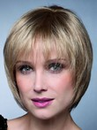 Red Razostunning Short Bob Shape Synthetic Wig