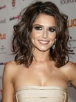 Synthetic Cheryl Cole Wavy Fashion Celebrity Wig