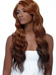 Lace Front Long Wavy Human Hair African American Wig