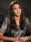 Hottest Jessica Alba's Synthetic Graceful Celebrity Wig
