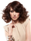 Wavy Front Lace Spiral Romantic Synthetic Wig