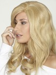 "Wavy 18"" Pleasant Lace Front Human Hair Wig"
