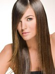 Admirable Straight Human Hair Lace Front Wig