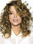 Voluminous Wavy Long Human Hair Lace Front Wig