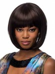 Lovely Straight Capless African American Wig