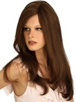 Human Hair Natural Straight Capless Wig