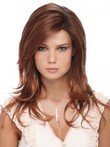 Layelace Front Red Synthetic Wig For Woman