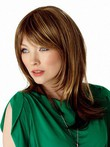 Straight Synthetic Prodigious Capless Wig