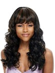 Black Remy Human Hair African American Wigs For Capless Women