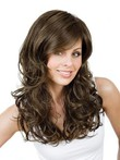 Lace Wavy Front With Mono Gisela Mayer Wig For Woman
