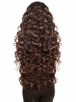 Capless Wavy Fabulous Great Remy Human Hair Wig